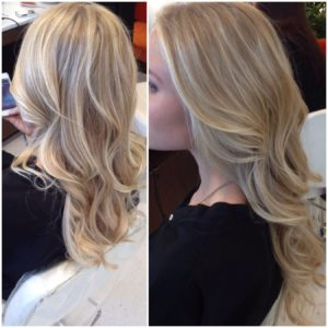 Advantages of blonde highlight