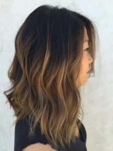 You can vary with different shades and the ombre effect for your dark hair with highlights