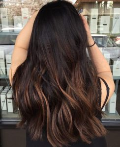 How many variety of shades for your dark hair with highlights!