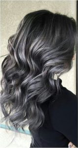 Subtlety and elegance for your dark hair with highlights!