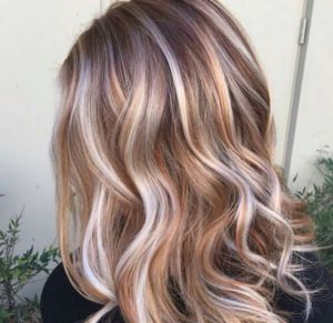 If you want to make your caramel highlights at home, you can do it