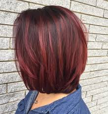 red highlights can make a big difference with your hair