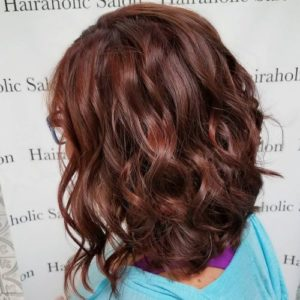 with red highlights you have multiple options to enhance your beauty