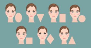 shape of your face to know the tonality and intensity that you will give to the color