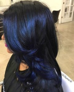 blue color for your hair