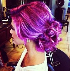 mix your purple highlights