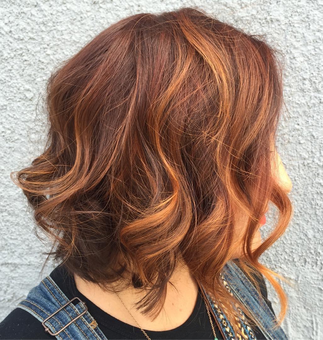 Best Auburn Hair With Highlights 2018 Photo Ideas Step By Step