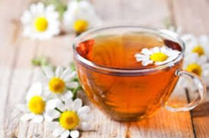 If lemon juice is not for you, Chamomile tea might be your answer
