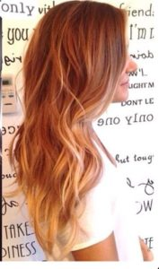 you can highlight your hair not only with dye but in natural ways