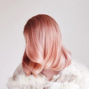 Platinum Gold Rose Hair