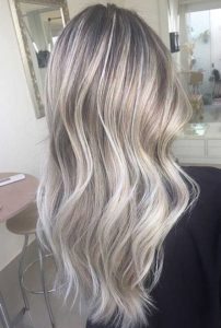 Silver highlights with Grey Highlights