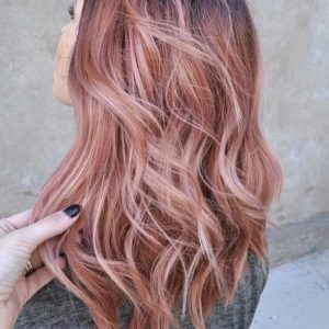 blond strawberry highlights