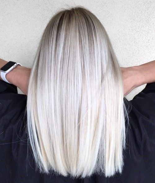 Best Platinum And Grey Highlights 2019 Photo Ideas