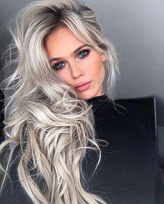trending grey hair