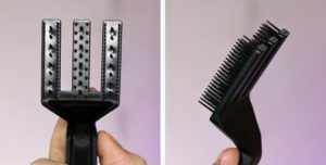 A DIY comb applicator