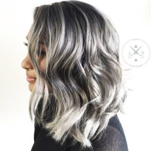 Short White Hair With Dark Highlights The Best Christmas Gifts