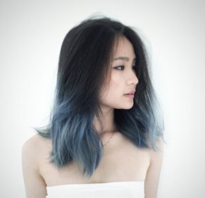 Fantasy colored hair easily