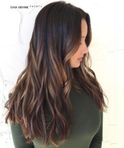How about babylights for your hair with chocolate highlights