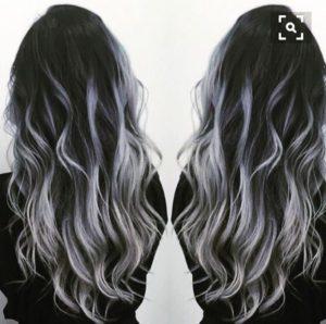 Silver greyish