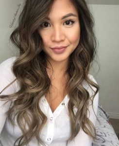 The subtle highlights of ash brown