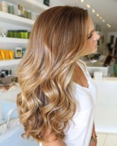 The tones you want to choose for your hair with ombre highlights