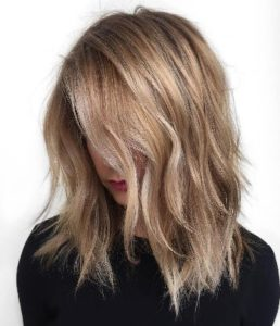 achieve a dirty blonde highlight color.