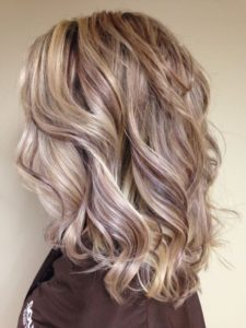 bold dimensional highlights to your blonde hair is simple
