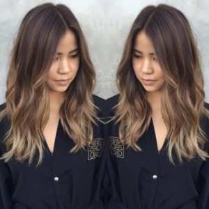 cap blonde highlights