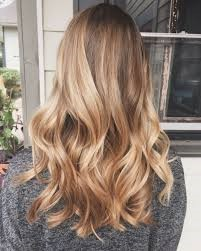 dirty blonde colored highlights