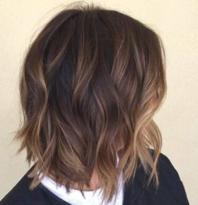 highlighted hair looks