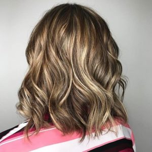 highlights, baby lights, balayage, lowlights, color melting