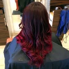 how many tones you can play with to dye your burgundy hair with highlights