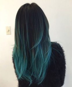 how teal highlights look on us.