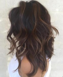 rinse your hair and you will have subtle highlights