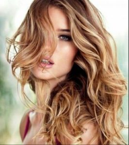 these highlights to golden blonde hair with highlights