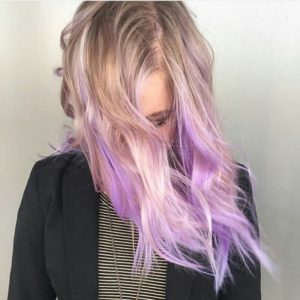 this type of color to their hair